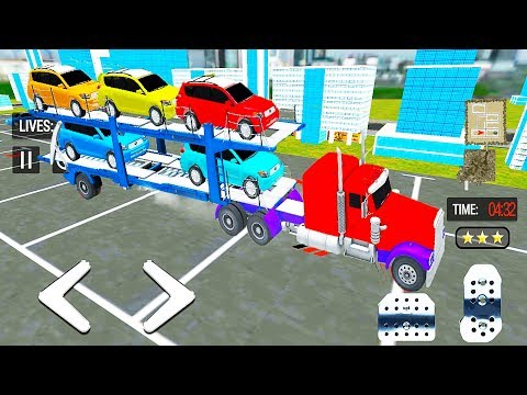 Transportation Cars by Truck (Transporter Games Multistory Car Transport) | Gameplay Android