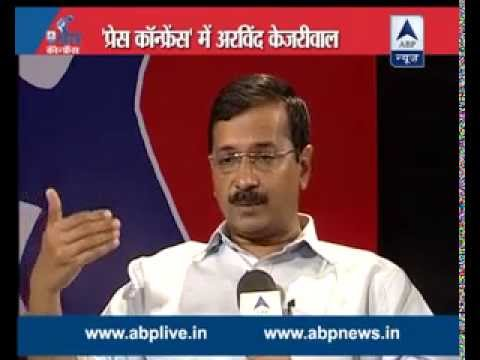 INTERVIEW: Arvind Kejriwal answering every question in ABP News Press Conference