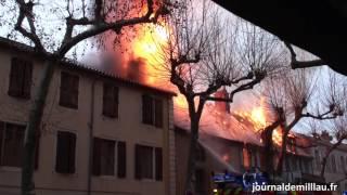 Incendie à Millau (Samedi 10 décembre 2016)