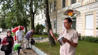 Из Калинина в Тверь в пятницу 13-го: Галечьян у Гальяни(Финальная часть поэтической прогулки в рамках фестиваля
