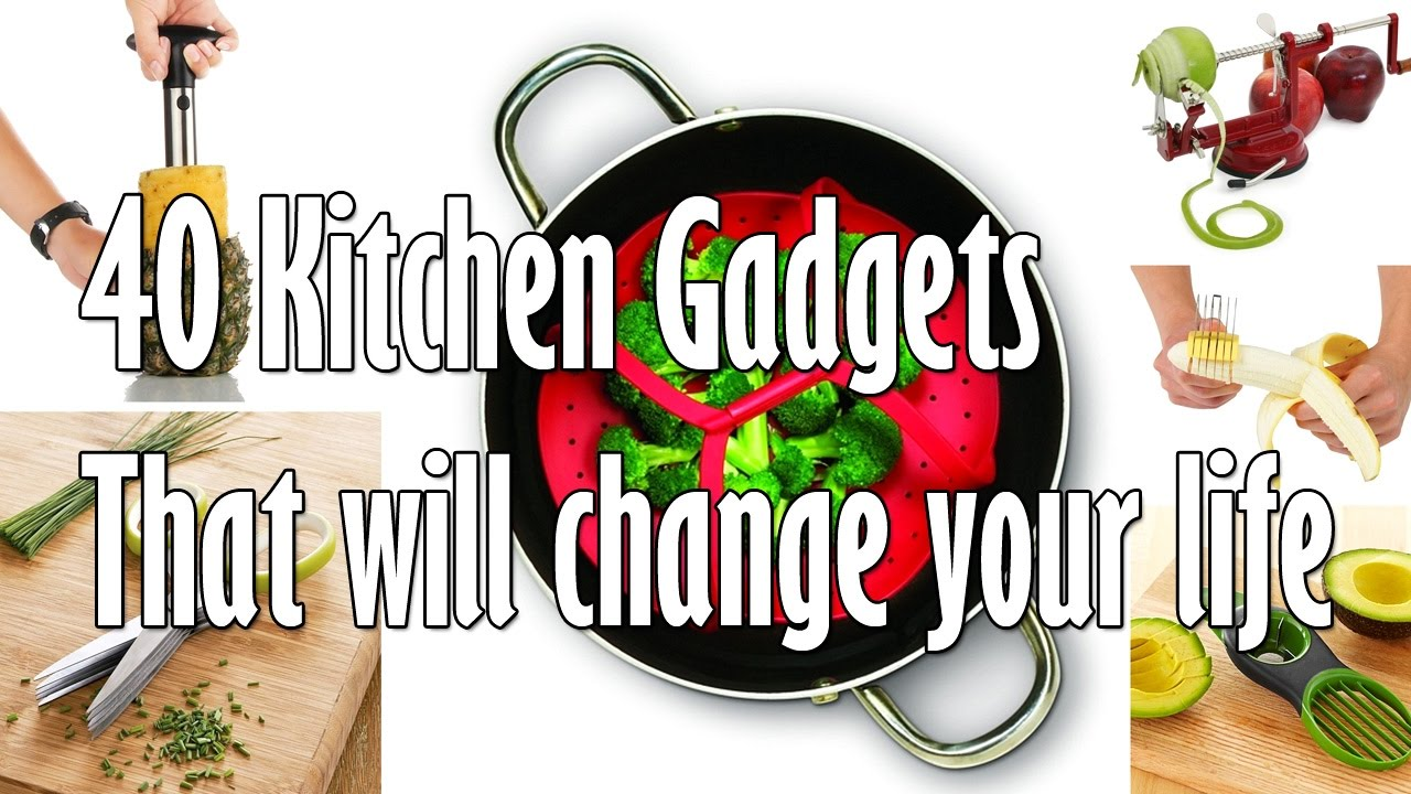 Do you have kitchen gadgets