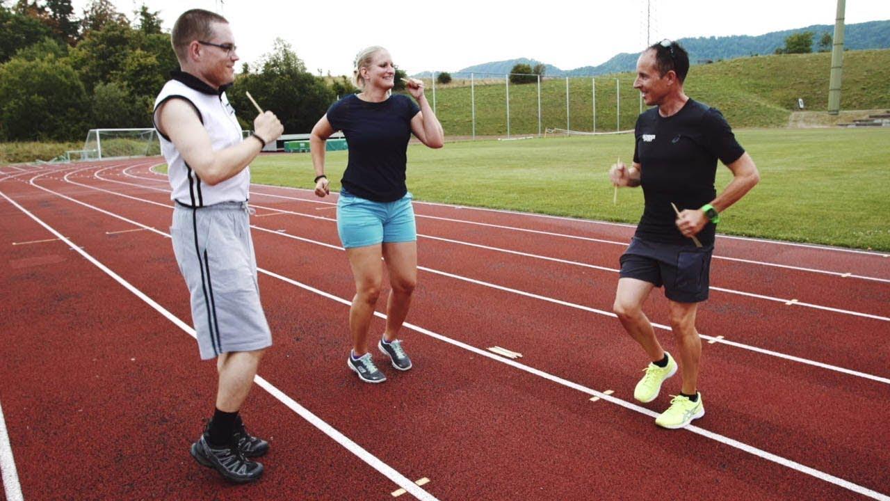 athlete course a pied
