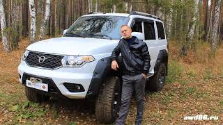 UAZ PATRIOT tuning  TARMOT 4x4
