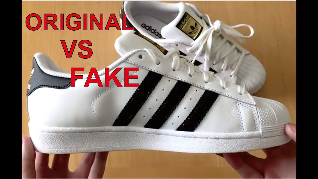 Adidas Superstar Foundation Pack Original & Fake