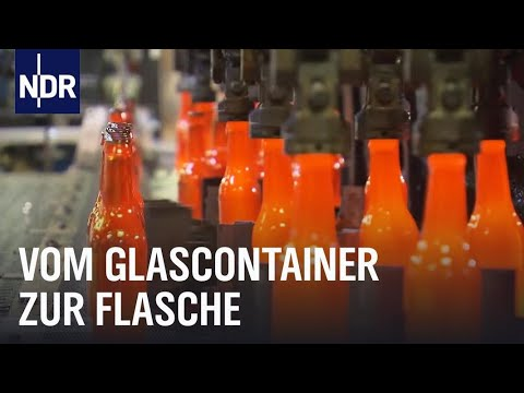 Recycling: Wie aus Scherben Flaschen werden | Wie geht das? | NDR
