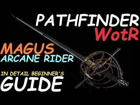 Pathfinder: WotR - Arcane Rider Magus Starting Build - Beginner's Guide [2021] [1080p HD] |