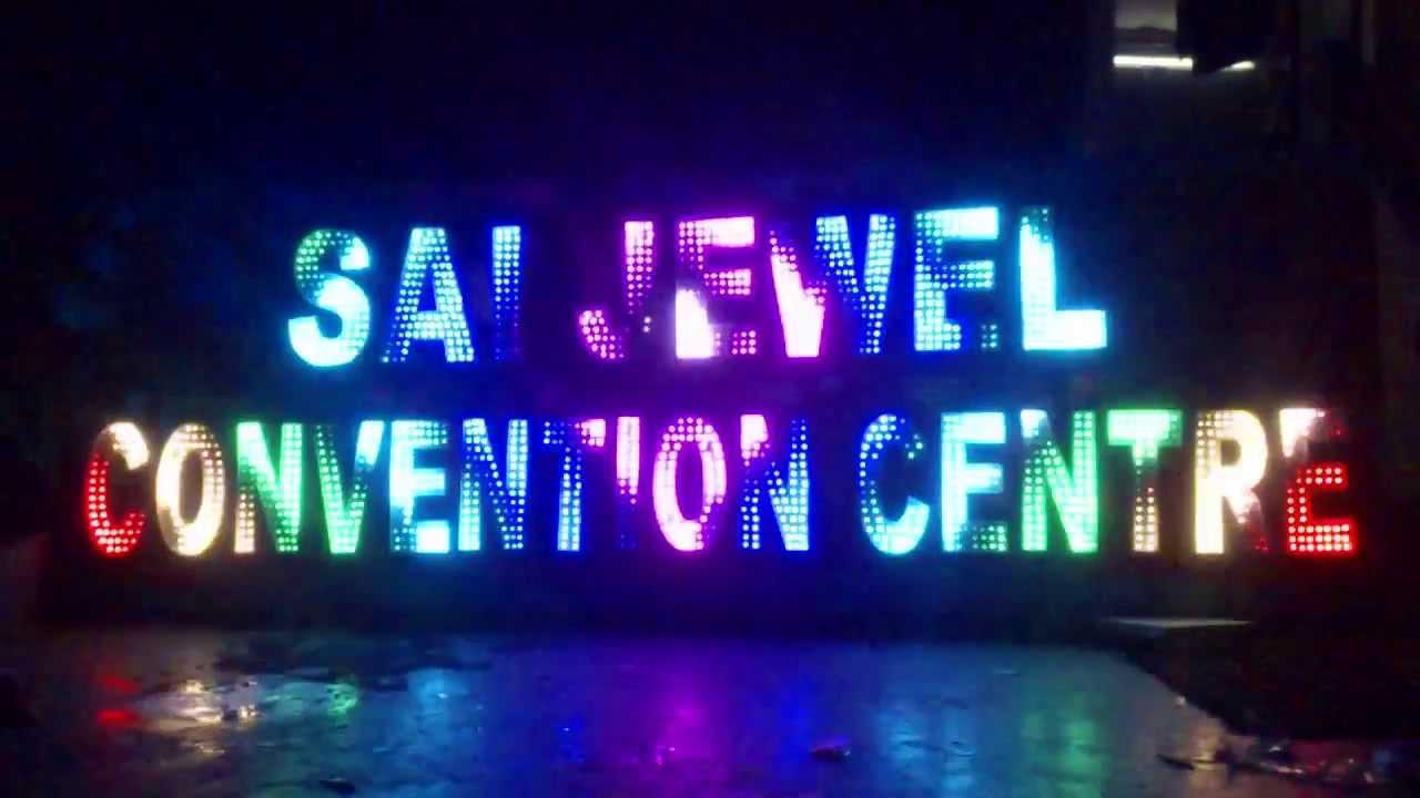 LED Sign Board - YouTube