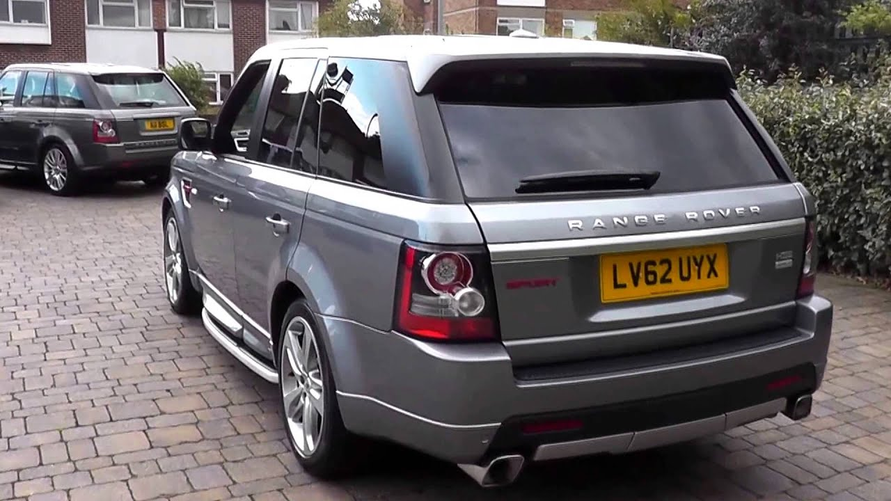 2012 land rover range rover sport hse 3l lv62uyx orkney grey at beadles sidcup youtube. Black Bedroom Furniture Sets. Home Design Ideas