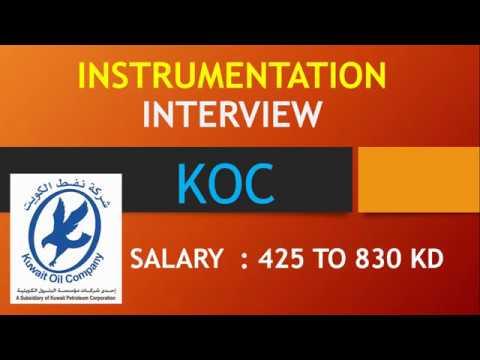 KOC KUWAIT INTERVIEW FOR INSTRUMENTATION CREW