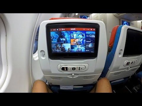 THY A330-300 ile İstanbul'a Uçuş- YENİ EKONOMİ SINIFI