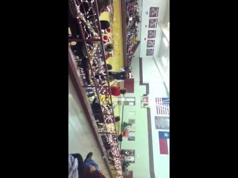 Spurger high school pep rally