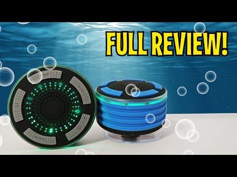 Portable IP67 Waterproof Wireless Bluetooth Speaker - FULL REVIEW!