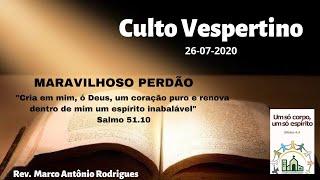 MARAVILHOSO PERDÃO - Salmo 51.1-19