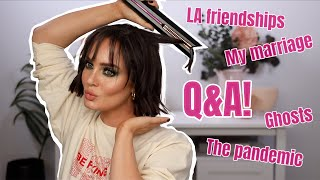 Answering Your Burning Quesтions & How I Style my New Hair!