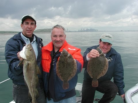 Flounder Fishing - Boston Harbor, MA