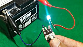 LED on 12 Volt with regulate