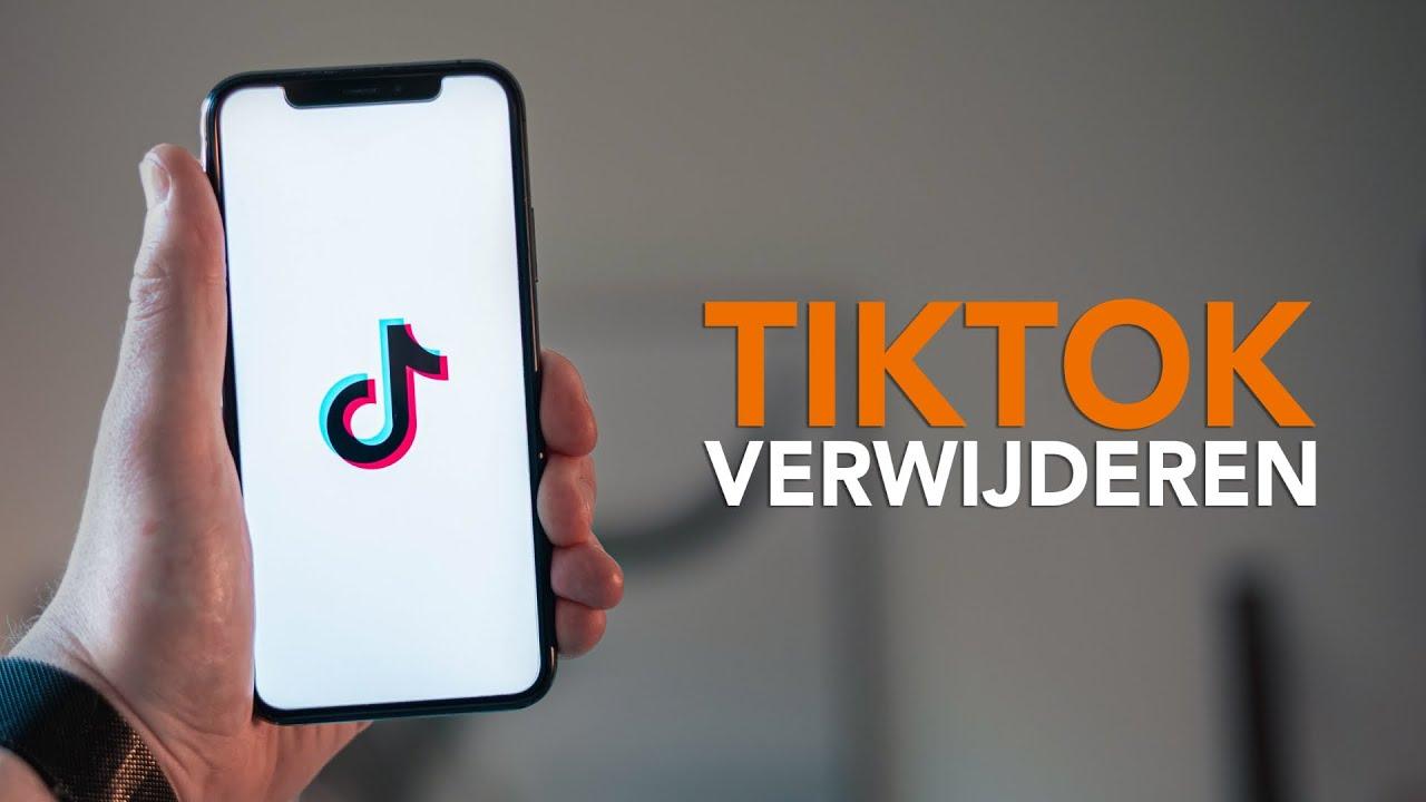 TikTok verwijderen: in 5 stappen je TikTok-account wissen
