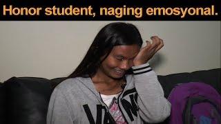 HONOR STUDENT NAGING EMOSYONAL NANG DUMULOG KAY IDOL RAFFY DAHIL GUSTONG MAKAUSAP ANG PABAYANG TATAY