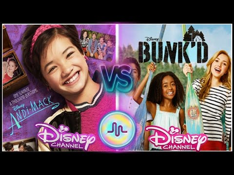 Andi Mack VS Bunkd Musical.ly Battle | Top Disney Channel Stars Musically 2017