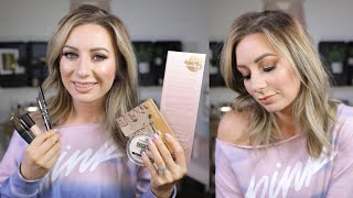 GRWM | TESTING NEW PRODUCTS | YSL, COLOURPOP, KVD, & MORE
