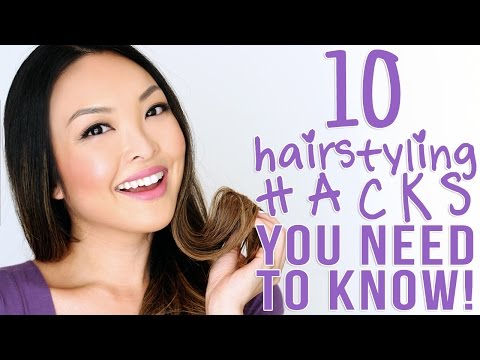 10 Lazy Girl Hairstyling Hacks You Need To Know!