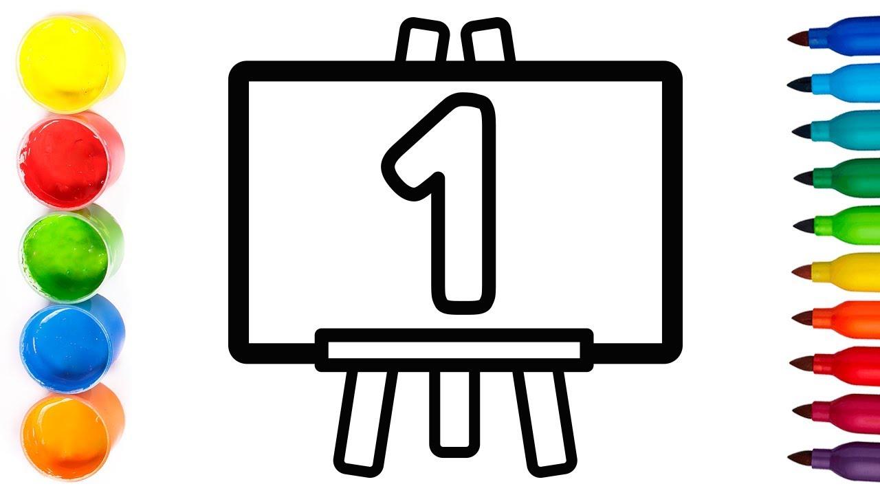 GLITTER ✨ Dibujamos una PIZARRA 😁 Dibuja y colorea 💫 Coloring and Drawing