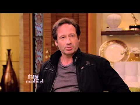 David Duchovny Let It Rain Live! With Kelly and Michael 2015 05 14