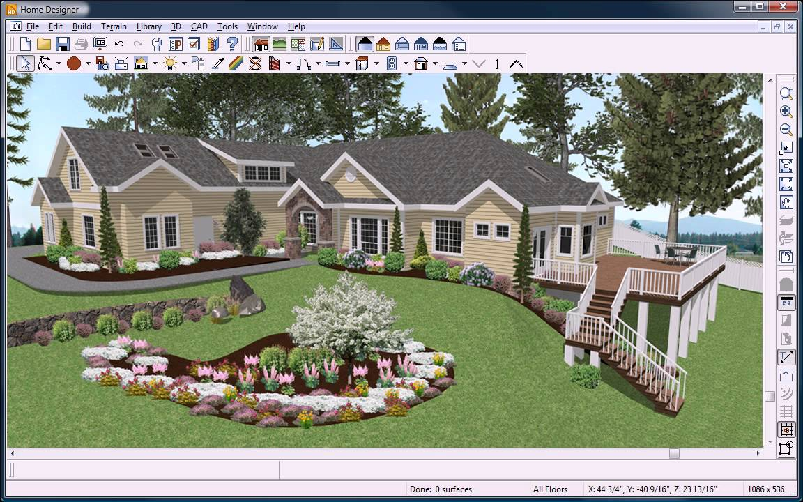 Let 39 s build a deck using landscape design software for - Best home and landscape design software ...
