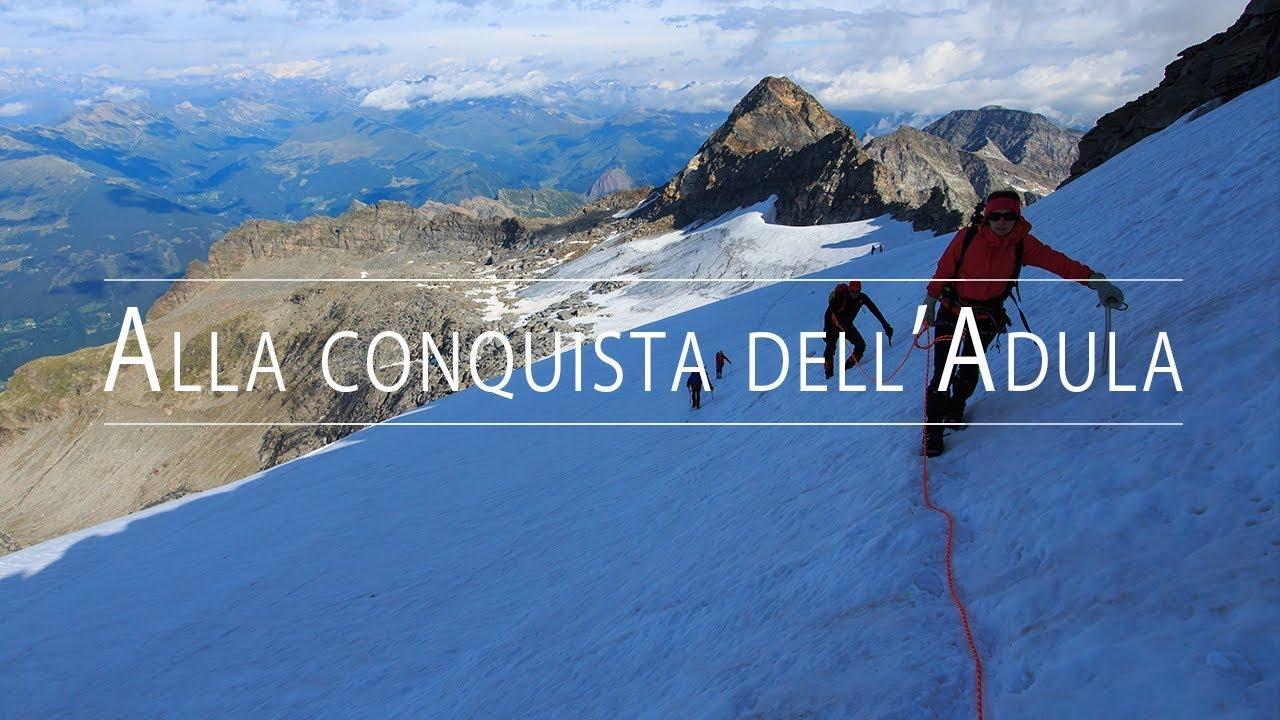 Download Adula (Rheinwaldhorn, 3402m) via Normale dalla val Carassina - 07/2017 - Alpinismo nel Canton Ticino