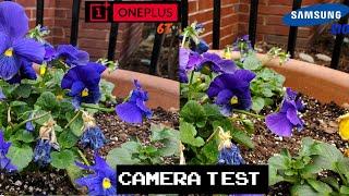 Galaxy S10 vs OnePlus 6T Camera Test
