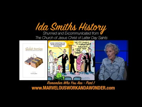 Ida Smith Interview Part 1 - Finding the Sealed Portion LDS General Conference April 2017