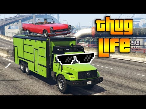 GTA 5 ONLINE : THUG LIFE AND FUNNY MOMENTS (WINS & FAILS #135)