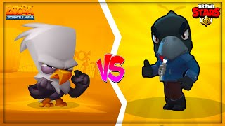 Brawl Stars VS Zooba ? /Legendary Crow vs Legendary Steve