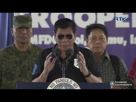 Talk to the Star Troopers of the Philippine Army's 5th Infantry Division (Speech) 9/17/2016