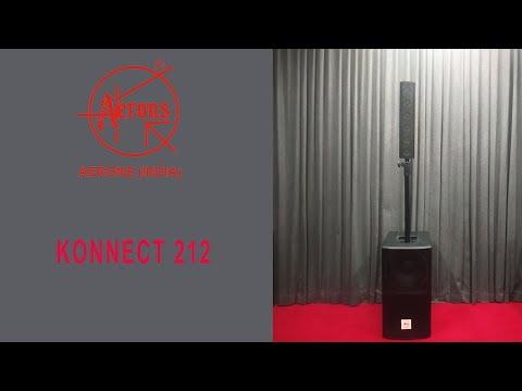 AERONS KONNECT 212 POWERED SPEAKER SYSTEM