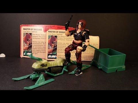 HCC788 - 1984 ZARTAN and CHAMELEON Swamp Skier - G. I. Joe toy review! HD