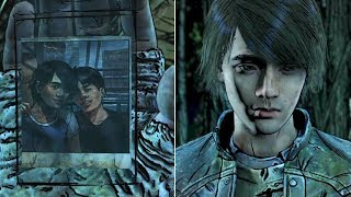 James Confesses to Clem About His Boyfriend - The Walking Dead the Final Season