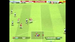 Gameplay Pro Evolution Soccer 2005