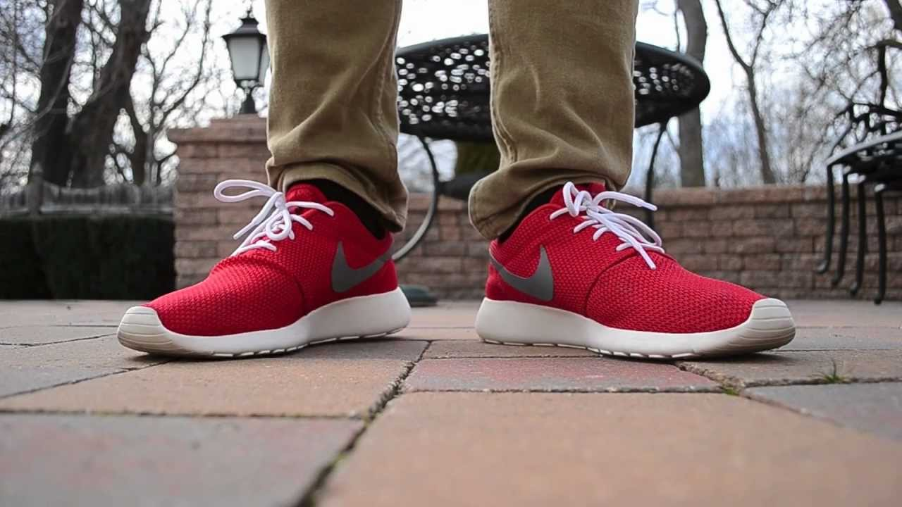 Nike Roshe Run Shoe Lace Length