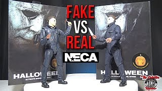 Fake Vs Real Unboxing Ultimate Michael Myers Halloween 2019 Neca