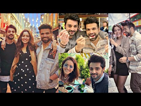 Karan Wahi, Asha Negi, Rithvik Dhanjani Vacation Together In London