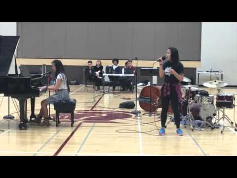 Nova Classical Academy Talent Show 2016   Mandy, Jannie and Alex
