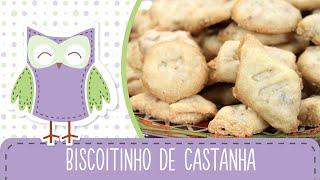 biscoitinho de castanha biscoito amanteigado receitas da mãe coruja 73