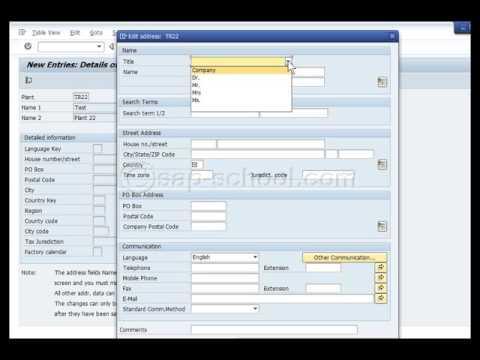 SAP MM : Materials Management Training Video