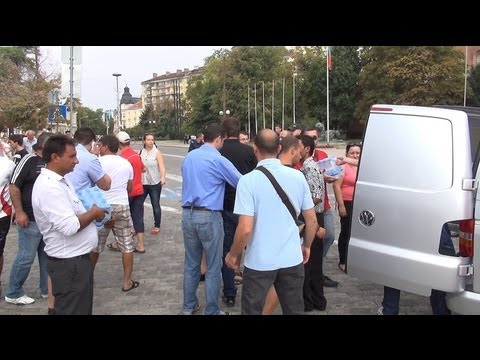 Free Drinks for Rally supporting Bulgarian Government 16.08.2013 in Full 3D HD