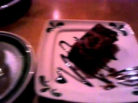 Olive Garden Chocolate Mousse Cake And Dolcini From 3 Course Meal For Youtube