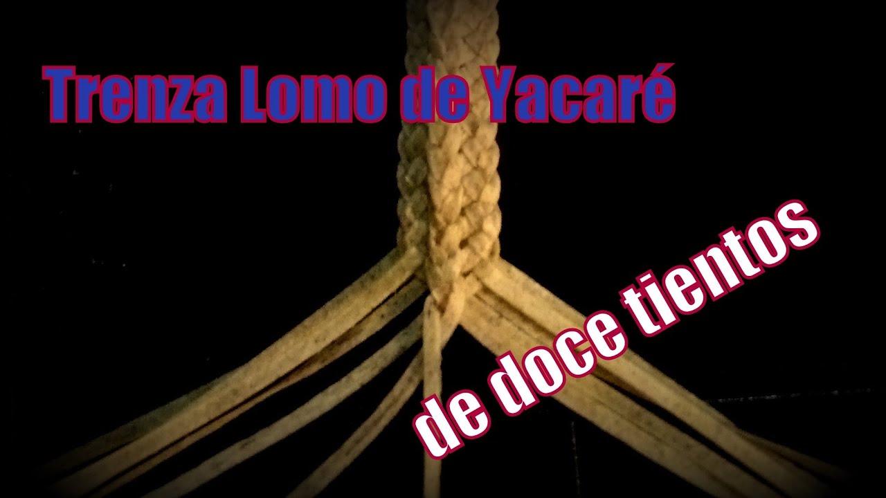 Trenza lomo de yacar de 12 tientos el rinc n del soguero - El rincon del sibarita ...