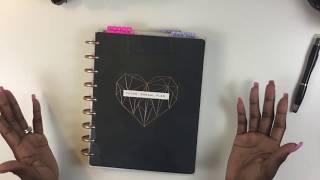My New 2019 Happy Planner
