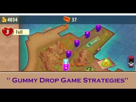 Gummy Drop iOS Android Game BEST Tips and Tricks - TOP strategy - Get Coins Quicker !