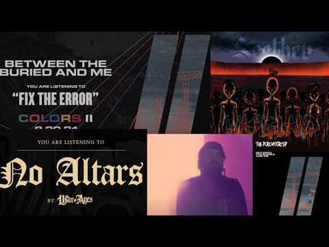 """BTBAM, Fix The Error - Seether, Purgatory"""" EP - War Of Ages, No Altars - Quicksand, Missile Command"""
